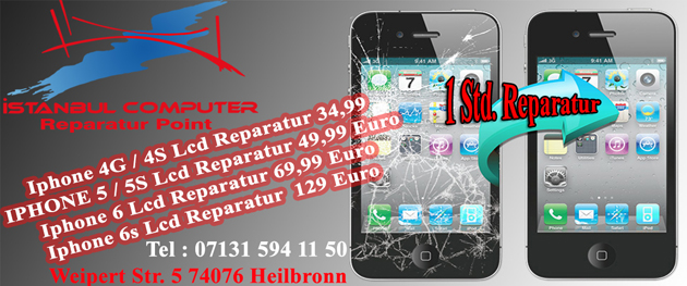 Iphone glass reparatur heilbronn