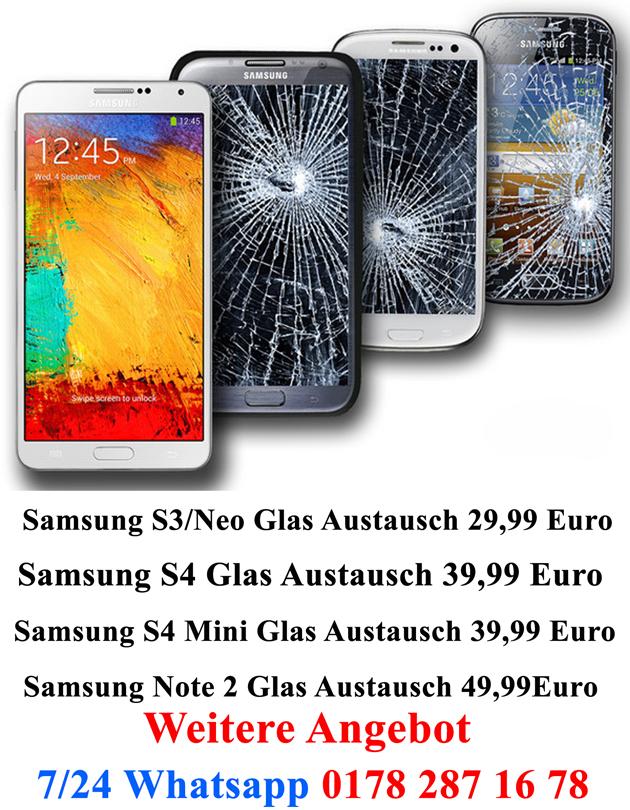 Samsung Glas Reparatur Heilbronn