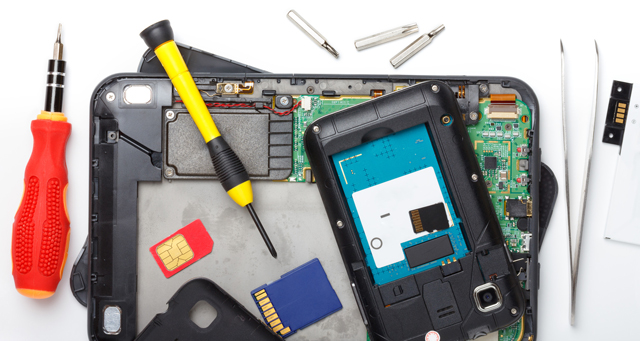 Reparatur Point beim Handy Reparatur
